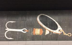 Métro Amsterdam - Ancre