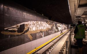 Métro Amsterdam - Frise