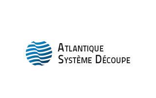 Atlantique système découpe, à la pointe de la découpe au jet d'eau